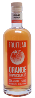 Fruitlab Orange Organic Liqueur 750ml
